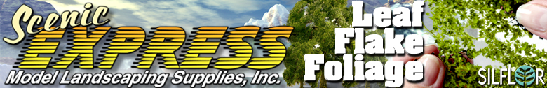 Scenic Express The Largest Selection Of Scale Model Railroad Scenery On The Web